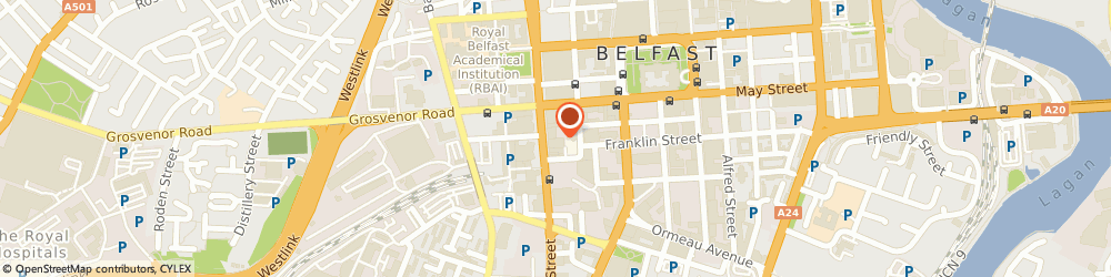 Route/map/directions to Northern Ireland Housing Executive, BT2 7BA Belfast, 32-36 Great Victoria Street