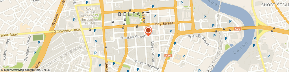 Route/map/directions to J m P Consultants Ltd, BT2 8GB Belfast, 20 Adelaide St
