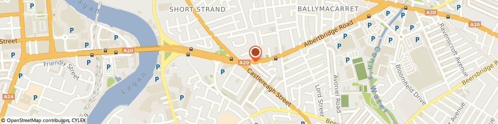 Route/map/directions to The Mount Rehearsal Room, BT5 4NA Belfast, 133 Albertbridge Rd