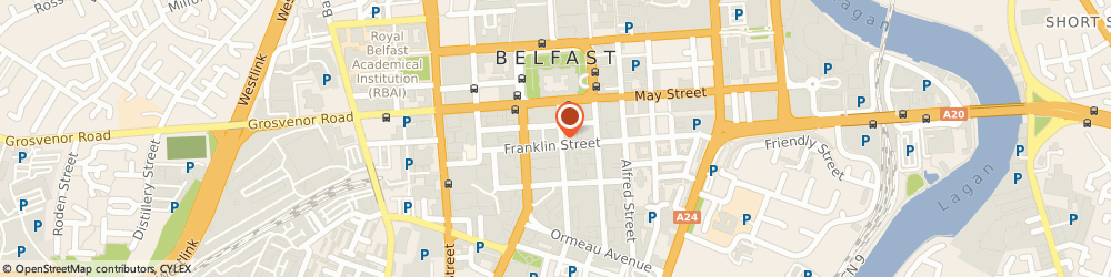 Route/map/directions to S J b Barbour, BT2 8AA Belfast, 17, LINENHALL STREET