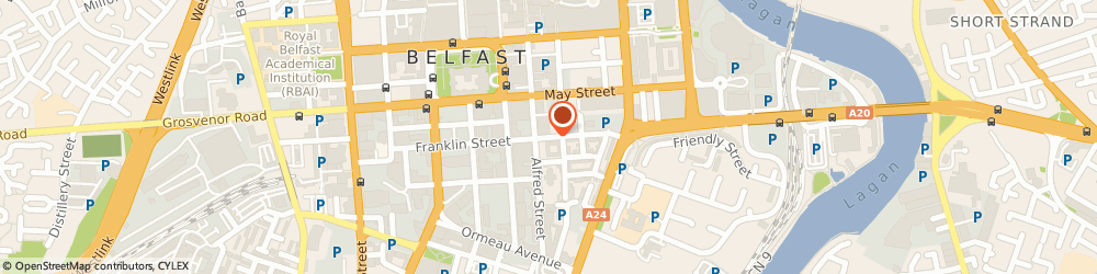 Route/map/directions to Fold - Chapelfields Fold, BT2 8PS Belfast, Sussex Place