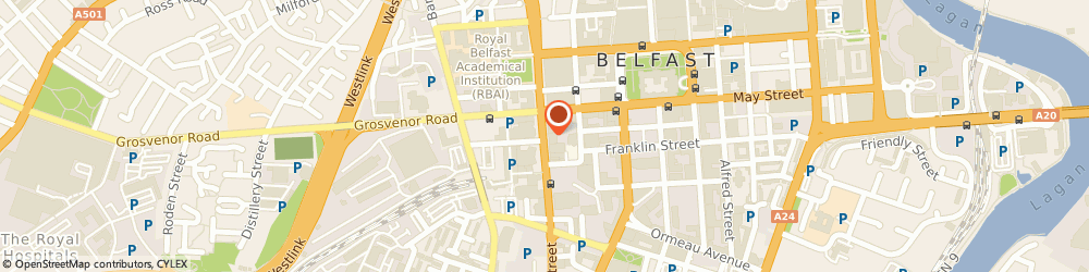 Route/map/directions to Forward Emphasis Limited, BT2 7BA Belfast, CHAMBER OF COMMERCE HOUSE, 22 GREAT VICTORIA STREET