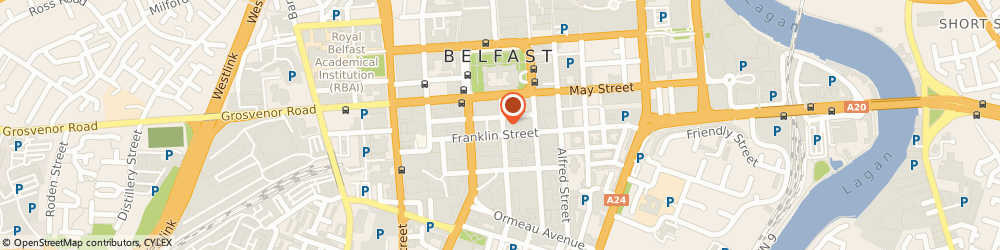 Route/map/directions to Portfolio Property Management Limited, BT2 8BG Belfast, THE LINENHALL, 32/38 LINENHALL STREET