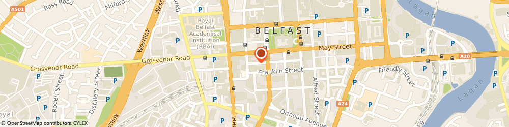 Route/map/directions to Mcclure Watters, BT2 7GA Belfast, THOMAS HOUSE 14-16 JAMES STREET SOUTH