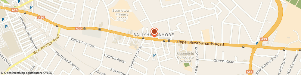 Route/map/directions to Jason Shankey Ltd Ballyhackamore, BT4 3EX Belfast, 358 Upper Newtownards Road