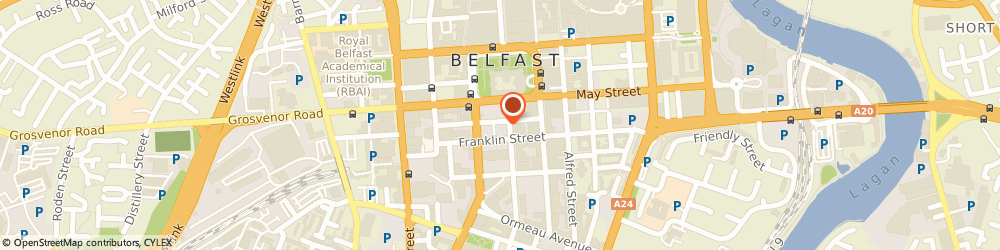 Route/map/directions to Citygate Insurance Services Ltd, BT2 8AA Belfast, 7-11 Linenhall St