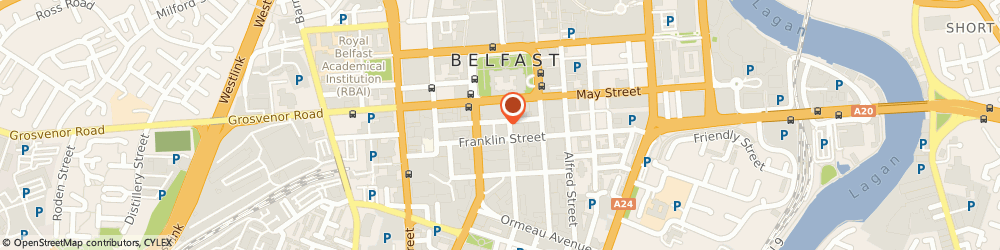 Route/map/directions to Michelle Atkinson Surveying Belfast, BT2 8AA Belfast, 3Rd Floor, 7-11 Linenhall Street