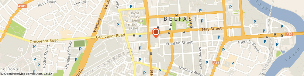 Route/map/directions to Scottish Equitable PLC, BT2 7SE Belfast, 9Th Floor, 14 Great Victoria Street