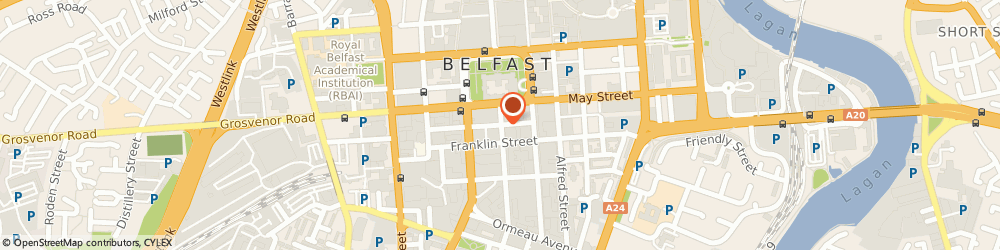 Route/map/directions to Ulster Bank Ireland Limited, BT2 8BA Belfast, 2 Linenhall St
