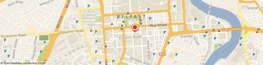Route/map/directions to General & Commercial, BT2 8AA Belfast, 7-11 Linenhall Street