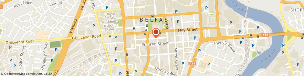Route/map/directions to Loopland Estates Limited, BT2 8DN Belfast, 11TH FLOOR, CAUSEWAY TOWER, 9 JAMES STREET SOUTH
