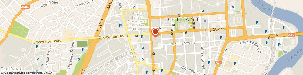 Route/map/directions to Eastwood Credit Limited, BT2 7BA Belfast, 14-18 GREAT VICTORIA STREET