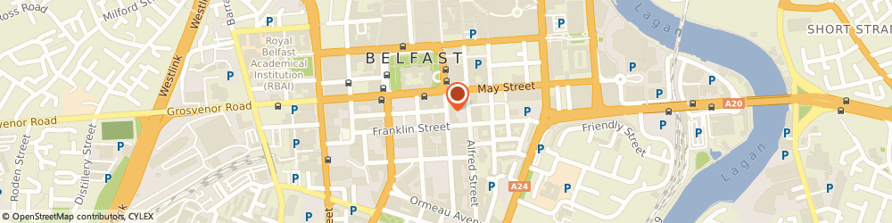 Route/map/directions to Avon Insurance PLC, BT2 8GE Belfast, 4 Adelaide Street