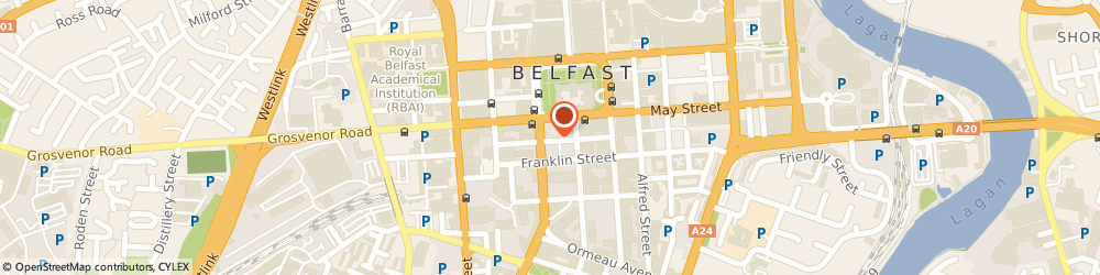 Route/map/directions to Instil Software Limited, BT2 8DN Belfast, The Warehouse, 7, James St South
