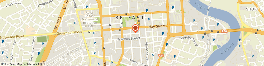 Route/map/directions to JAR Technologies, BT2 8DN Belfast, 7 James St S