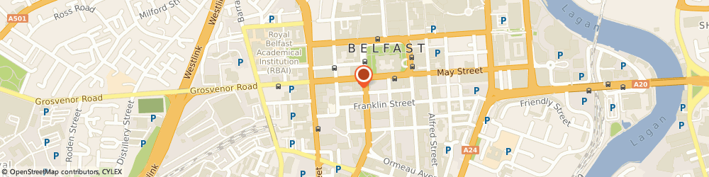 Route/map/directions to Lismore Group, BT2 8DN Belfast, 9 James St S, Causeway Tower