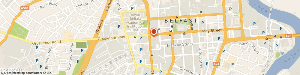 Route/map/directions to Libra, BT2 7BA Belfast, 10 Great Victoria Street