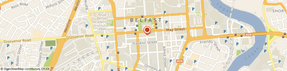 Route/map/directions to Business Services Organisation Belfast, BT2 8DQ Belfast, Franklin Street