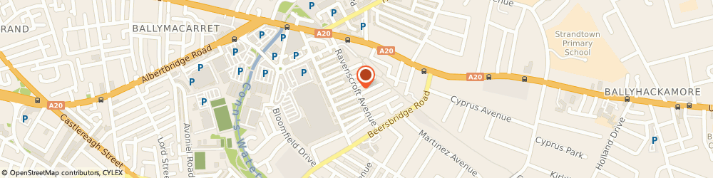 Route/map/directions to Atlas Suspended Ceilings, BT5 5BQ Belfast, 27 Beechwood St
