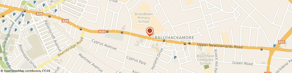 Route/map/directions to Powerct Limited, BT4 3EU Belfast, AT THE OFFICES OF FALCONER STEWART, 248-266 UPPER NEWTOWNARDS ROAD