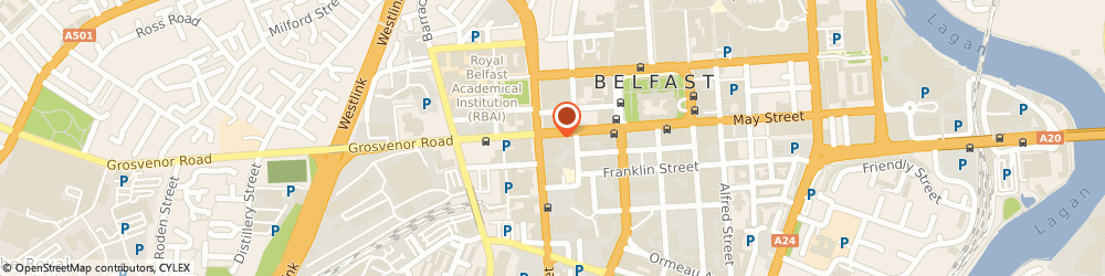 Route/map/directions to Capitus, BT1 6PJ Belfast, 58 HOWARD ST, FRIENDS PROVIDENT BUILDING