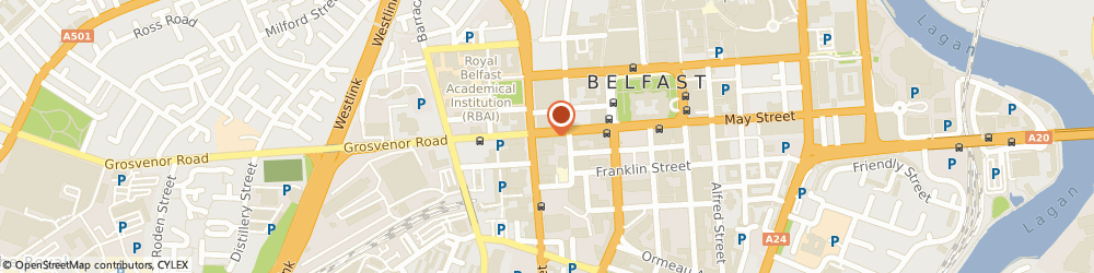 Route/map/directions to North Clothing, BT1 6PG Belfast, 54 Howard St