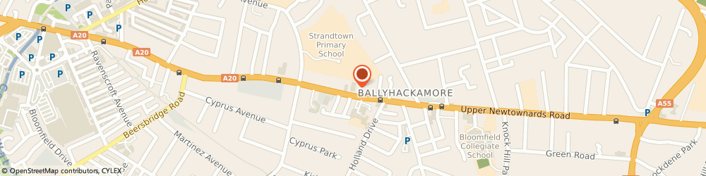 Route/map/directions to Ulster Bank ATM Shell Service Station Ballyhackamore, BT4 3EV Belfast, 276 Upr Newtownards Road