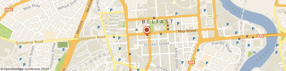 Route/map/directions to National Mutual Life Assurance Society, BT1 6PA Belfast, 22 Howard Street, Dax House