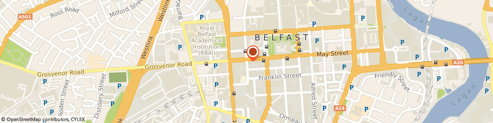 Route/map/directions to Contract & Construction Consultants (Ni) Ltd, BT2 7GE Belfast, HOWARD HOUSE 1-3 BRUNSWICK STREET