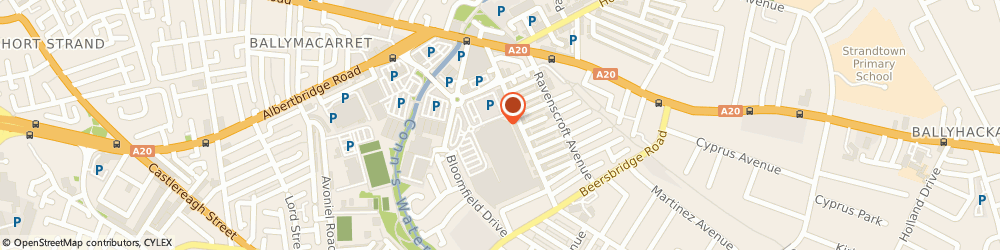 Route/map/directions to Carphone Warehouse, BT5 5LP Belfast, Unit 47, Connswater Shopping Centre