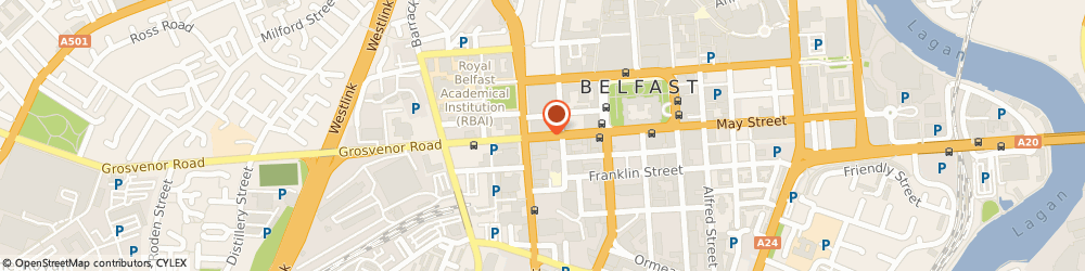 Route/map/directions to The Bureau, BT1 6HT Belfast, 46-50 HOWARD STREET