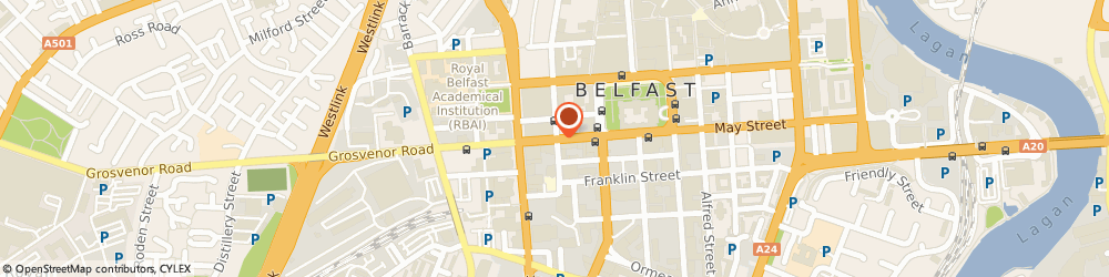 Route/map/directions to Carers National Association, BT1 6PJ Belfast, 58 HOWARD STREET