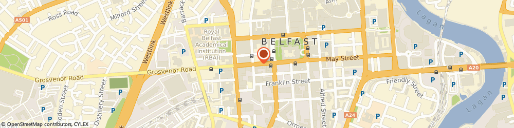 Route/map/directions to Intelligent Software, BT1 6PG Belfast, 26 Howard Street