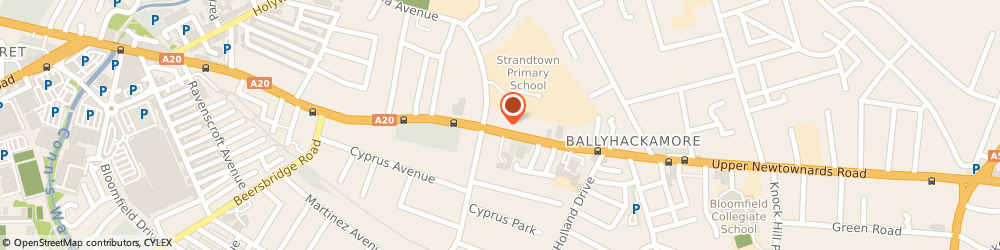 Route/map/directions to Cn Hygiene Solutions Ltd, BT4 3EU Belfast, 248 UPPER NEWTOWNARDS ROAD