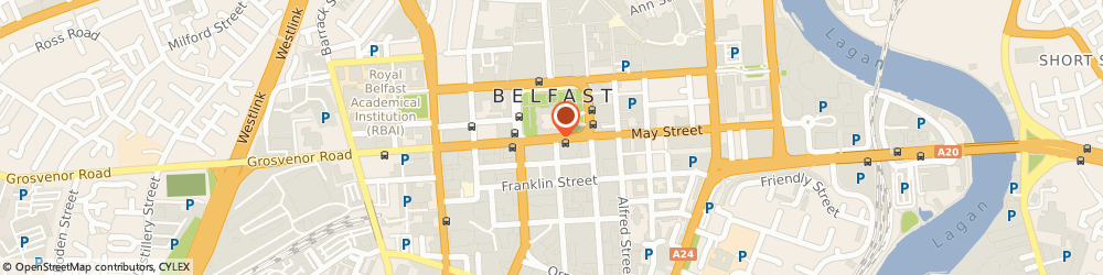 Route/map/directions to Scottish Amicable Life Assurance Society, BT1 5JE Belfast, 11 Donegall Square South