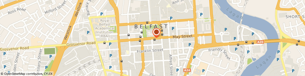 Route/map/directions to Estate Resources Limited, BT1 5JA Belfast, C/O OSBORNE KING THE METRO BUILDING, 6-9 DONEGALL SQUARE SOUTH