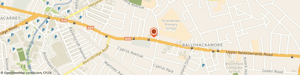 Route/map/directions to Perfect Fitness Limited, BT4 3ET Belfast, 212-218 UPPER NEWTOWNARDS ROAD