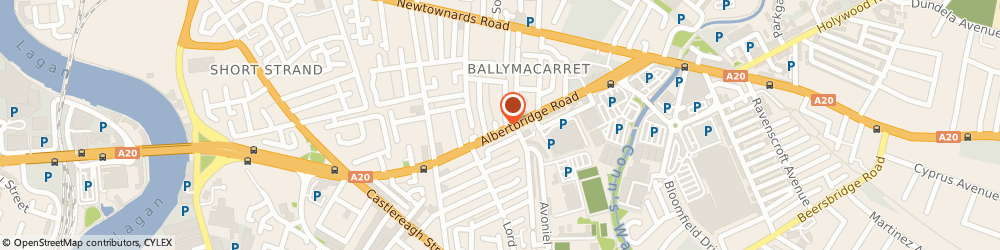 Route/map/directions to Chinese Delight, BT5 4GW Belfast, 238 Albertbridge Rd