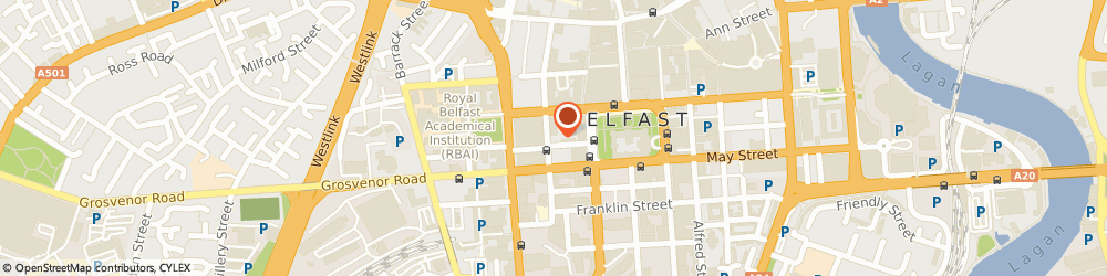 Route/map/directions to Stix and Stones, BT1 6FD Belfast, 44-46 Upper Queen St