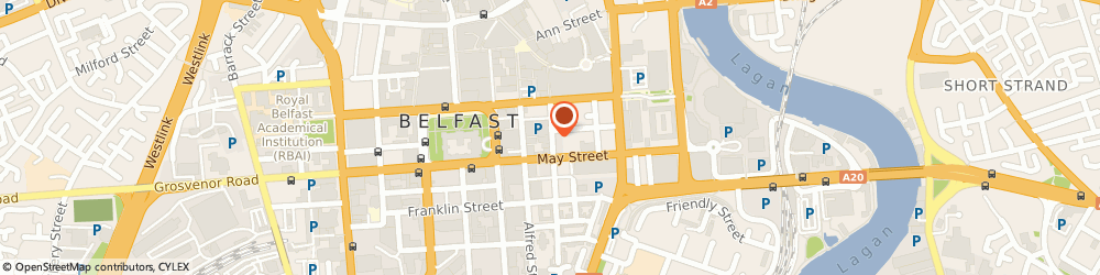 Route/map/directions to Claybrook Computing Ltd., BT1 4NX Belfast, 7Th Floor, Montgomery House, 29 - 31 Montgomery Street