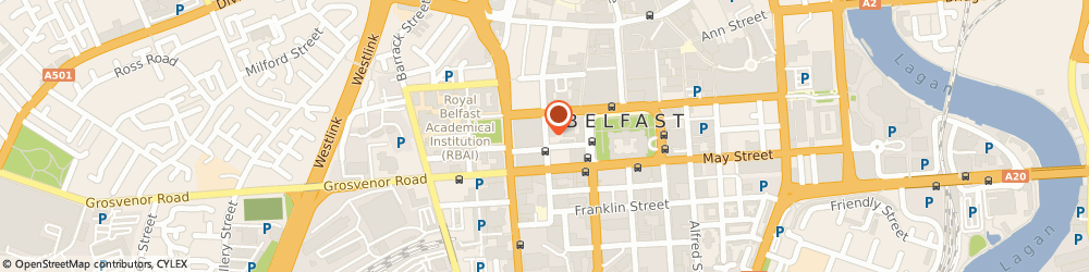 Route/map/directions to The Allotment, BT1 6FD Belfast, 48 Upper Queen St