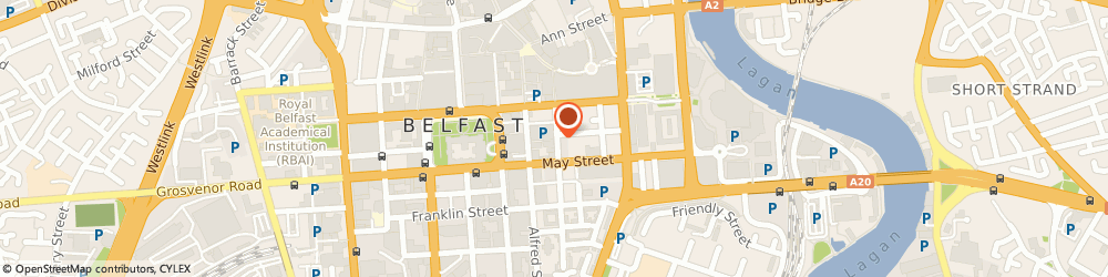 Route/map/directions to Lisney, BT1 4NX Belfast, 29-33 Montgomery St, Montgomery House