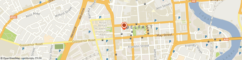 Route/map/directions to Eagle Star Insurance Co Ltd, BT1 6QD Belfast, 5-7 Upper Queen St