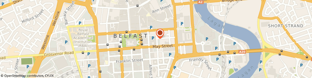 Route/map/directions to Reed Hospitality, BT1 4NX Belfast, 29-31 Montgomery Street