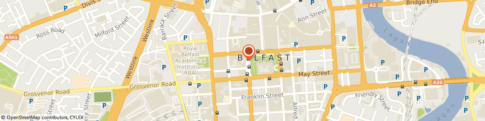 Route/map/directions to Rodgers Weir & Co, BT1 6JH Belfast, Scottish Provident Building, 7 Donegall Square West
