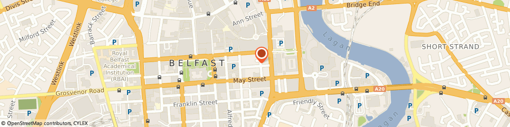 Route/map/directions to Aon Risk Solutions, BT1 4LS Belfast, 15-17 Gloucester Street