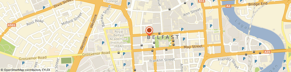 Route/map/directions to Ni Approach Ltd, BT1 6GE Belfast, 18 WELLINGTON PLACE