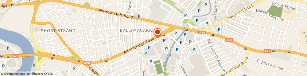 Route/map/directions to Bits & PC'S Store The Ltd, BT5 4GX Belfast, 308 ALBERTBRIDGE RD