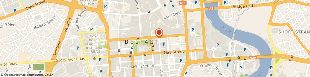 Route/map/directions to Thompsons Garage, BT1 4HW Belfast, 3 Pattersons Pl