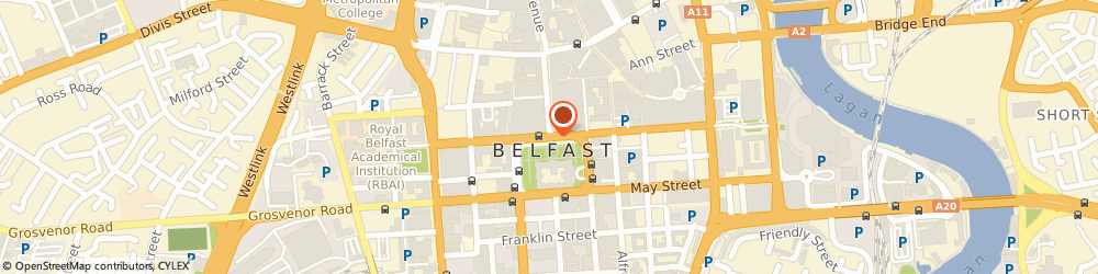 Route/map/directions to Legal & General Assurance Society Ltd, BT1 5DP Belfast, Cleaver House, Donegall Square North